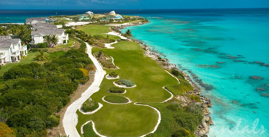 terrain de golf au bahamas